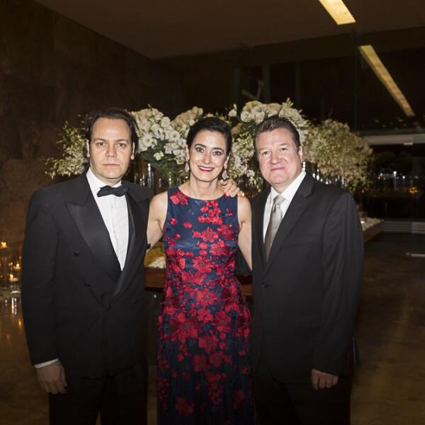 Miguel Ángel Morales, Gloria Andrea Ceballos, Sergio Ceballos