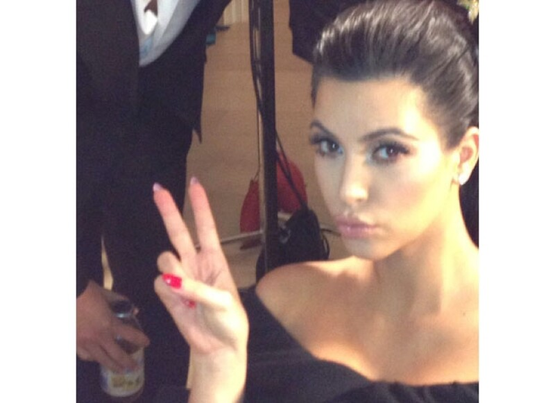 Kim está de vuelta a su vida normal.