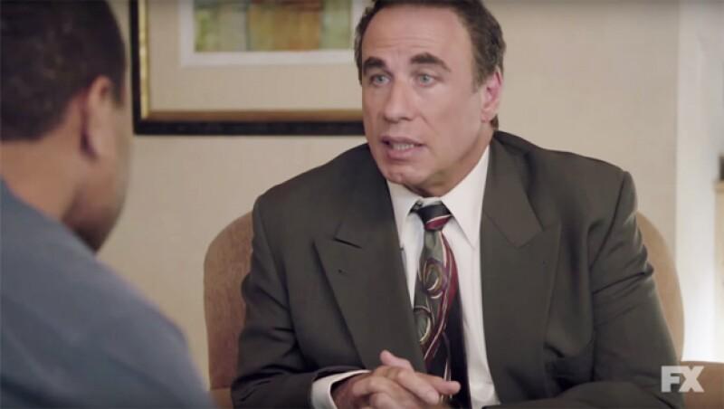 """El actor generó polémica por su papel como el abogado Robert Shapiro en la serie American Crime Story: The People V OJ Simpson, donde la gente ha criticado su """"cara derretida"""" o exceso de bótox."""