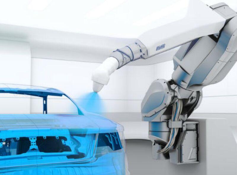 taller de pintura inteligente de Durr para BMW 1