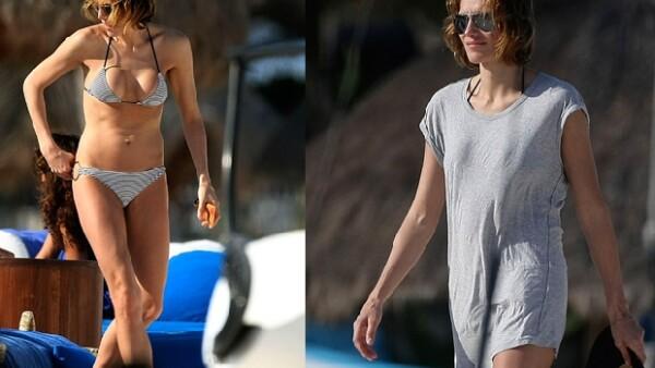 La ex mujer de Juan Villalonga presume en playas mexicanas su relación de seis meses con el empresario Mathias Helleu.