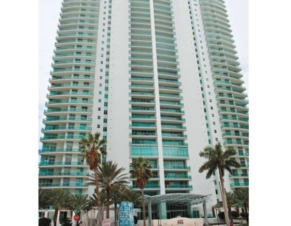 A Aquí se encuentra el primer departamento que se compró en Miami.