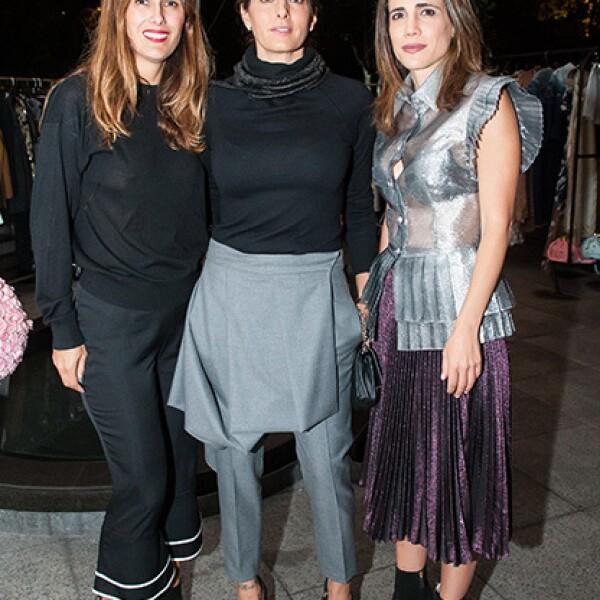 Erika Basave,Paola Saad y Raquel Juan Marcos