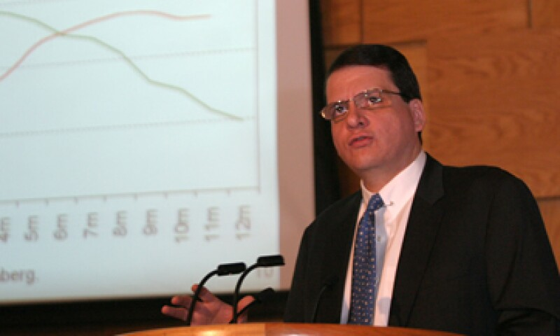 Manuel Ramos Francia participó en la Reunión Nacional de Consejeros de BBVA Bancomer. (Foto: Cuartoscuro)