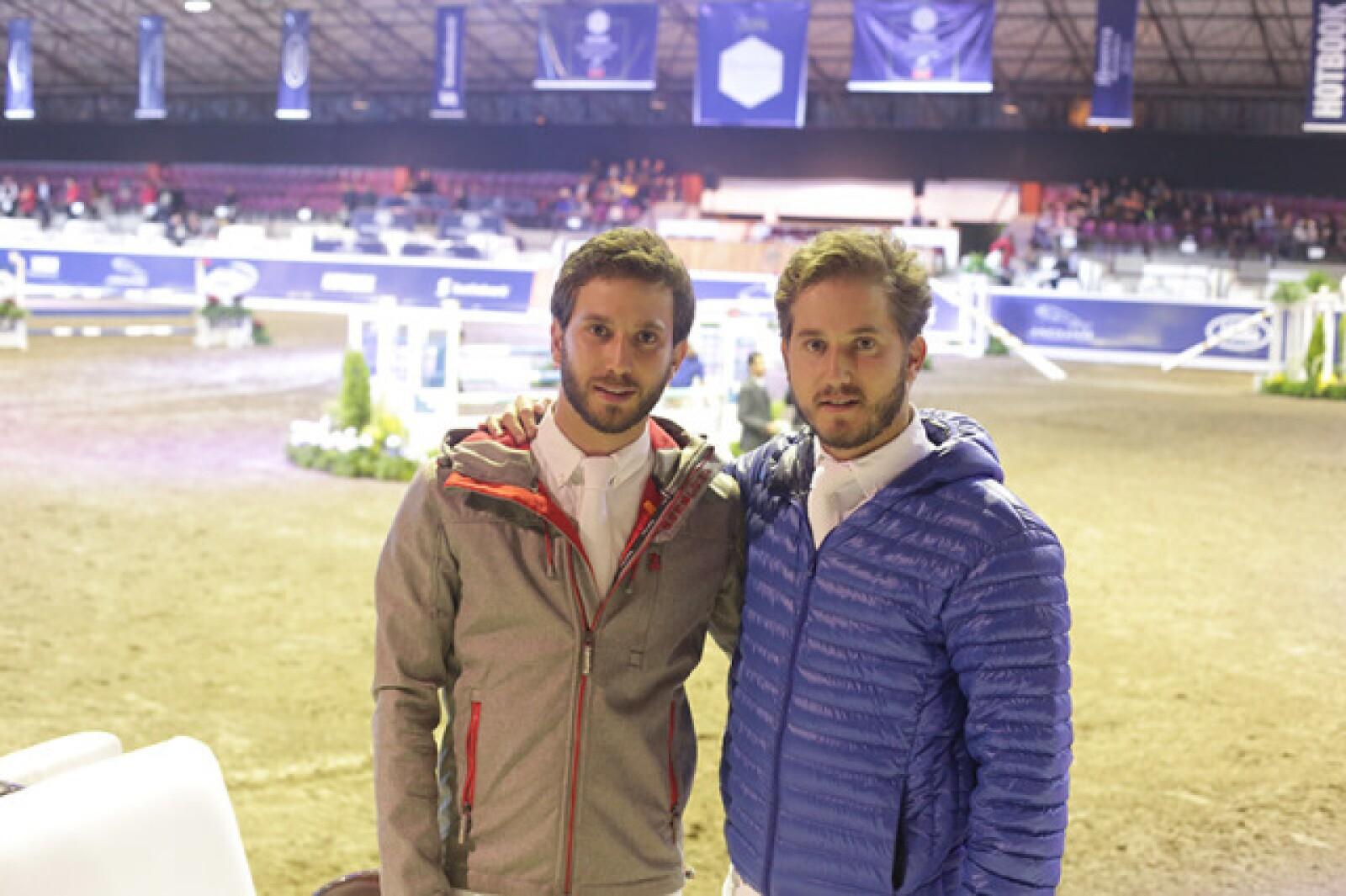 Pablo Torres y Andrés Torres