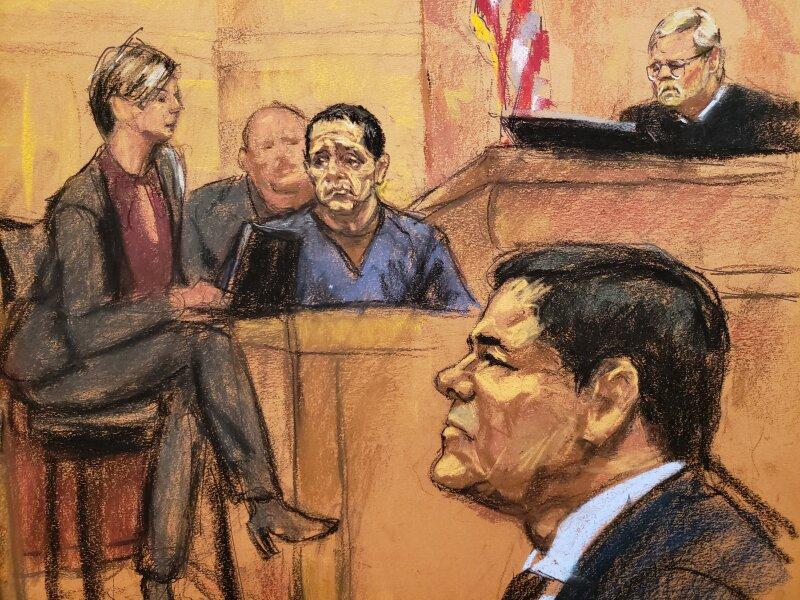 Chapo juicio visas S testigos