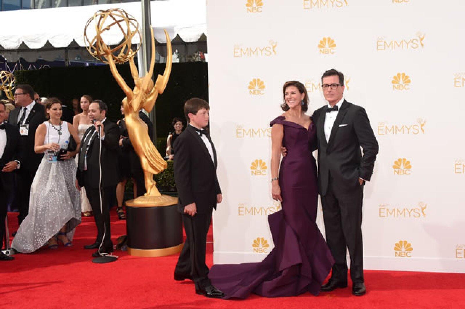 Stephen Colbert, Evelyn McGee-Colbert.
