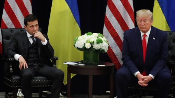 Donald Trump y caso Ucrania