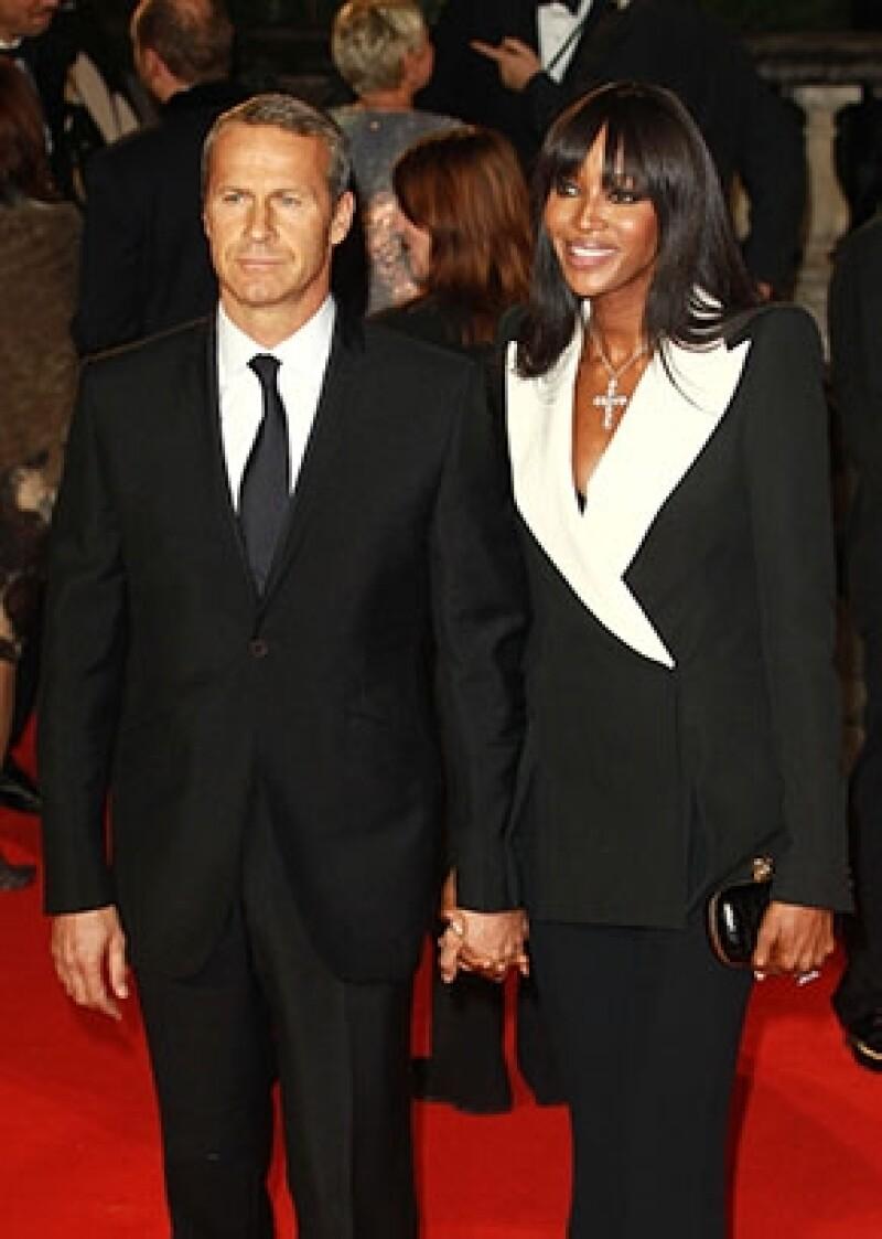 La supermodelo Naomi Campbell y el millonario ruso, Vladislav Doronin, podrían haberse dado un tiempo en su relación de cinco años tras haber atravesado un bache en su consolidada unión.