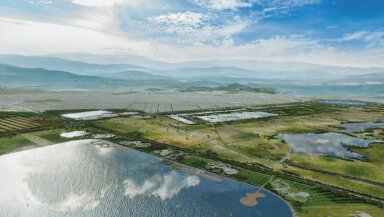 Render Proyecto Lago de Texcoco