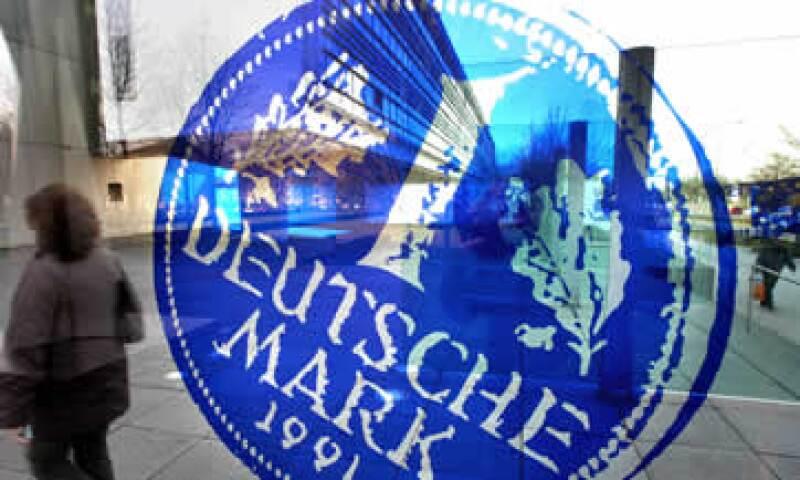 El Banco Central alemán rechaza asumir responsabilidades en caso de que algún país de la eurozona atraviese una crisis. (Foto: AP)