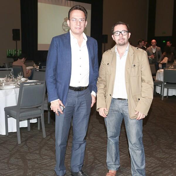 Daniel Martínez y Esaú González