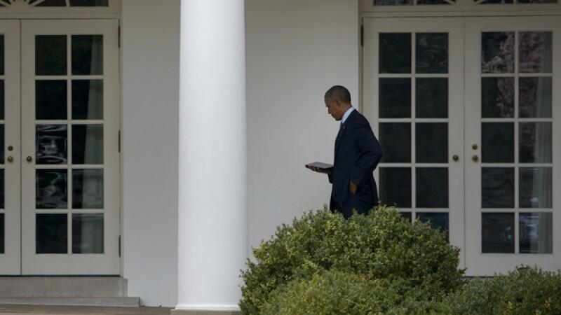 Obama Casa Blanca apagón