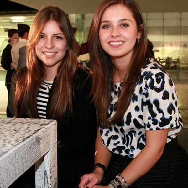Mónica Pino y Nieves Galindo