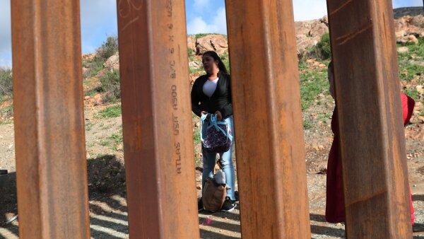 frontera hondureña migrantes tijuana