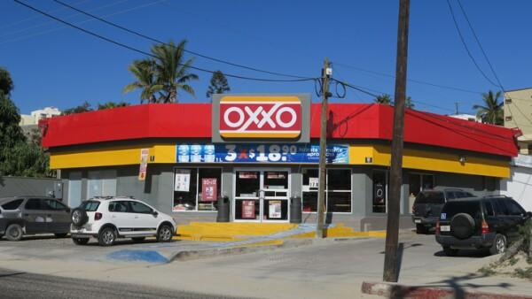 Mexican OXXO stroe in San Jose Del Cabo