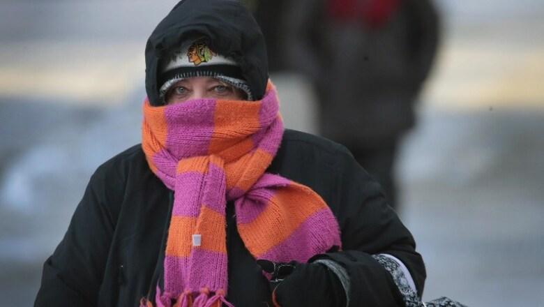 Frío extremo.