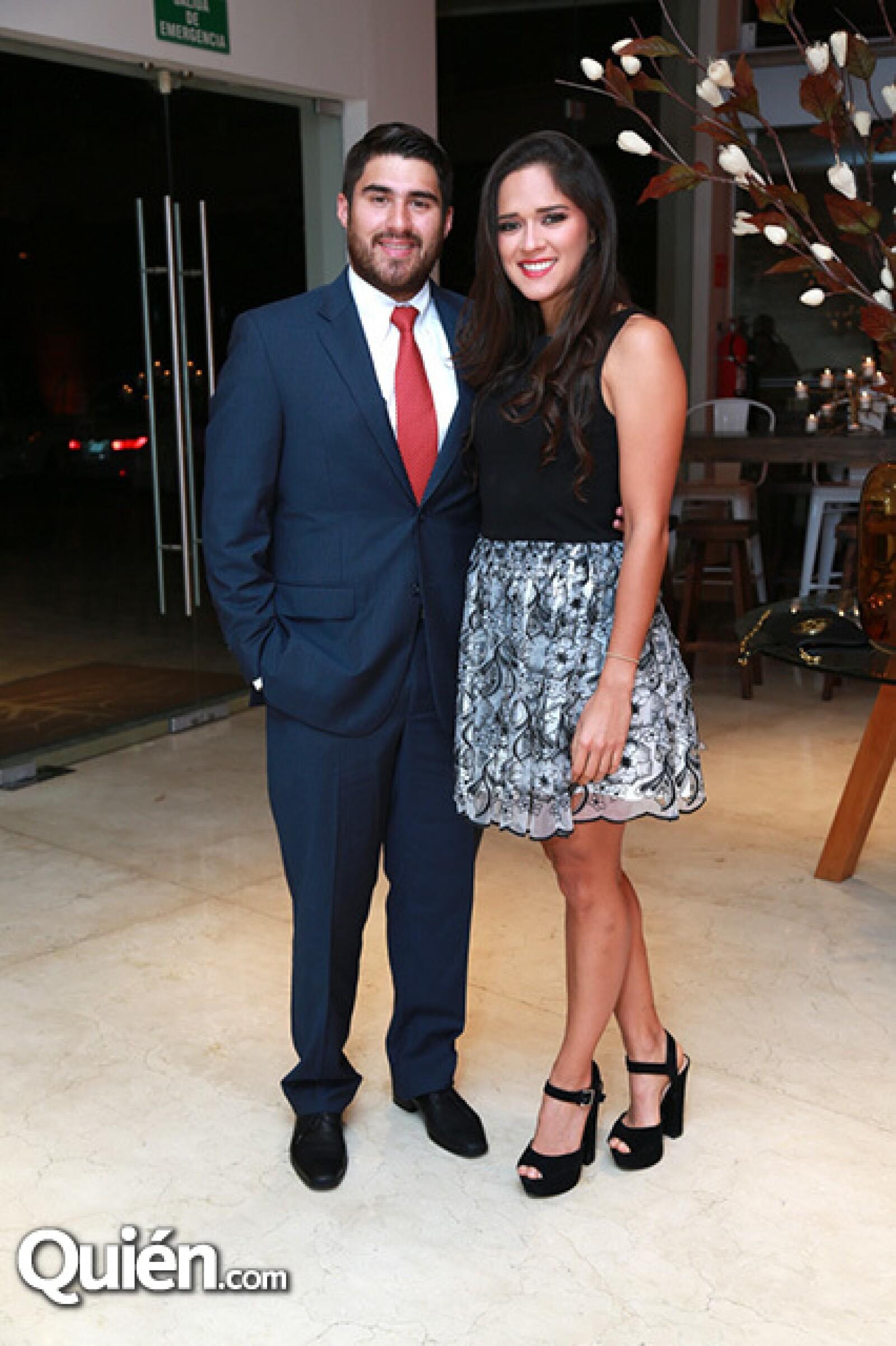 Rodolfo Mendoza y Barbara Cavazos