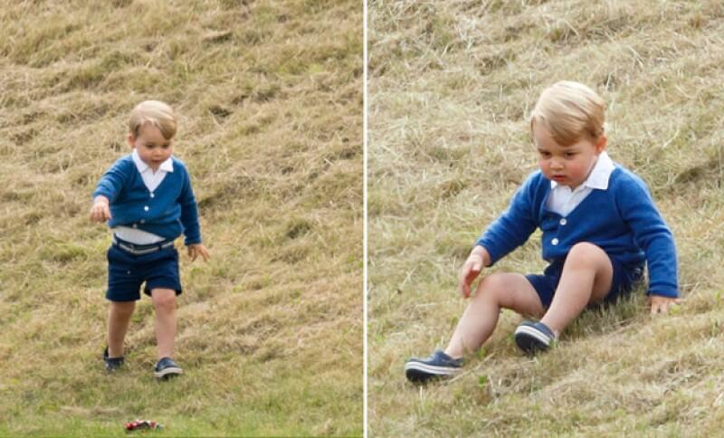 El príncipe George aun a su corta edad a logrado tener el Toque de Midas, mejor conocido como El Efecto George al usar unos Crocs en el partido de polo de su padre.