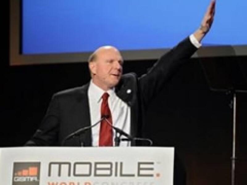 Steve Ballmer, presidente ejecutivo de Microsoft, estimó un panorama difícil para la economía.  (Foto: AP)