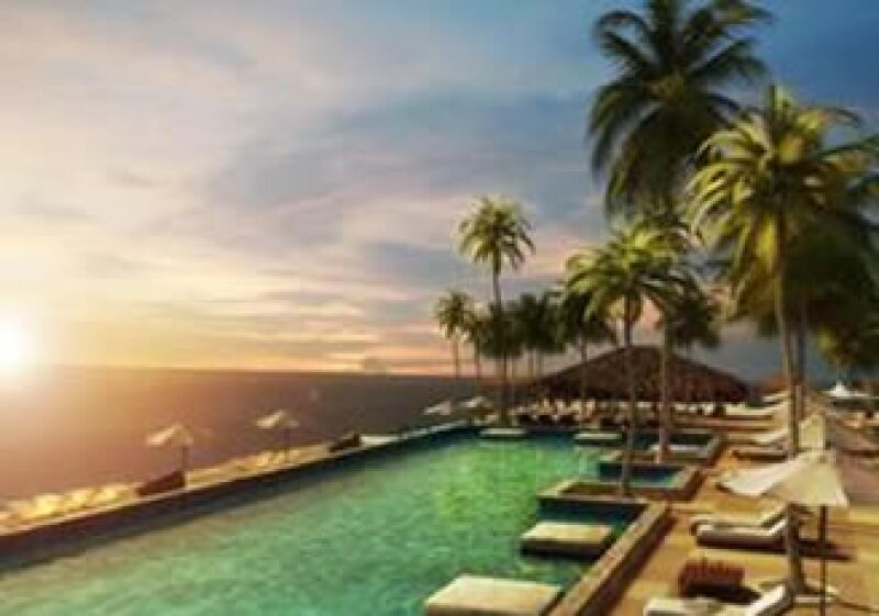 El Trump Ocean Club, ubicado en Panamá, abrirá sus puertas en la primavera de 2011.  (Foto: Cortesía Trump Hotel Collection)