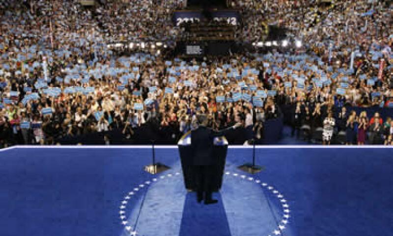 El discurso de Obama sería el último acto de la Convención Nacional Demócrata. (Foto: AP)