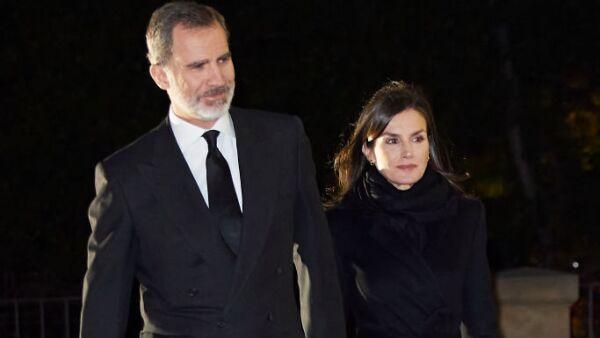 Rey Felipe de España y Letizia