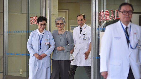 JAPAN-ROYALS-HEALTH-EMPRESS