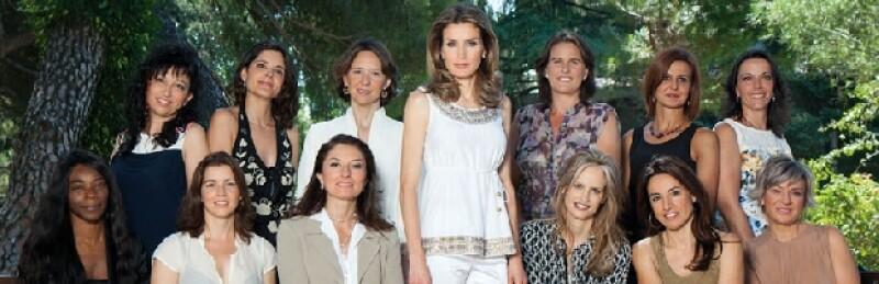 La princesa aceptó ser parte de un reportaje de la revista española Tiempo, en el que junto a doce mujeres habla sobre el papel de la mujer de las cuatro décadas.