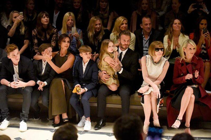La familia es respetada en el mundo de la moda.