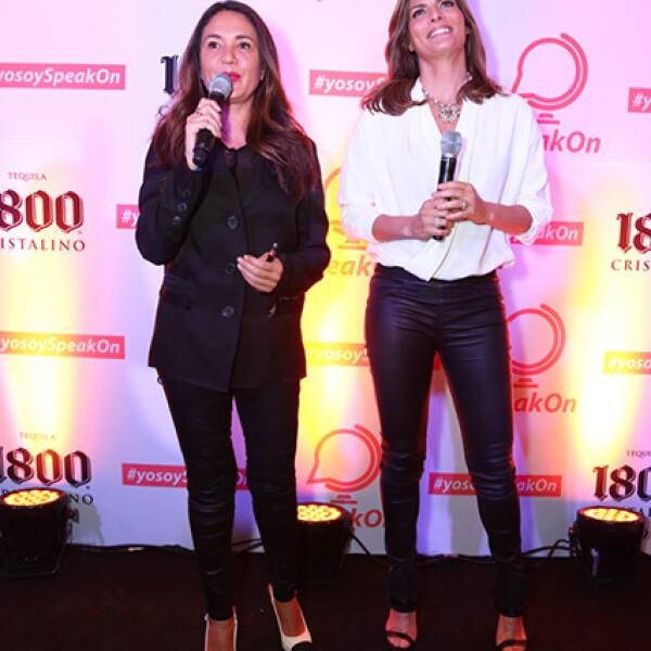 Yolanda Andrade y Montserrat Oliver