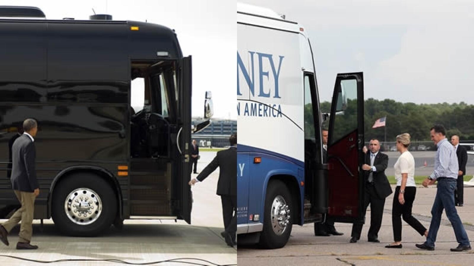 Transporte Obama Romney