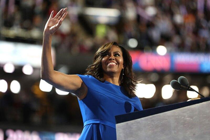 Durante ocho años la primera dama no ha dejado de sorprendernos y generar múltiples emociones, pero fue ayer que demostró que es mucha más que una mujer parada junto al presidente.