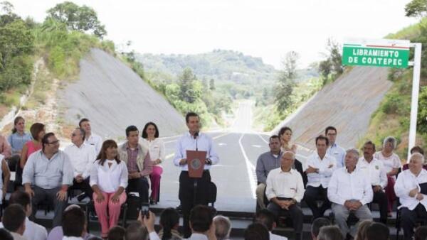 Pe�a Nieto en Coatepec