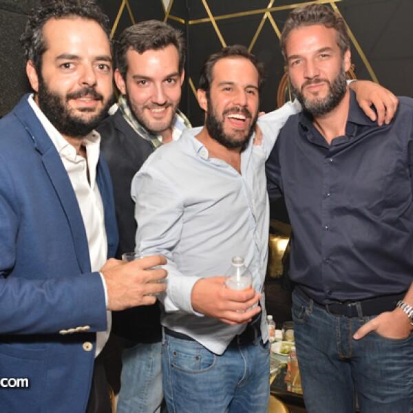 Pablo Portilla,Manuel Gascon,Julio Pascual,David Casares.