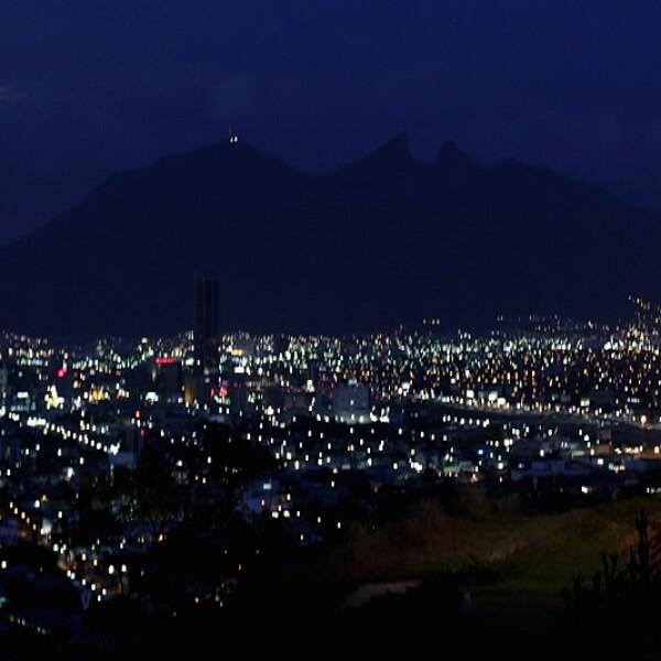 Cerro Silla Nuevo Leon super luna