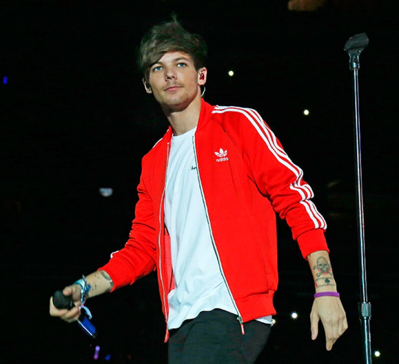 Durante el último concierto en Londres de One Direction, la estilista californiana fue vista entre la audiencia con su ya notable embarazo.