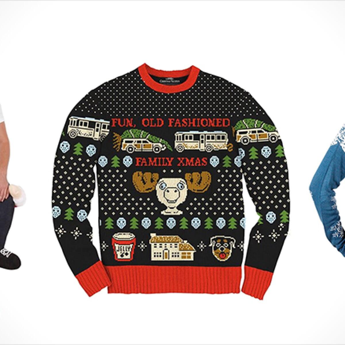 Ugly Christmas Sweater Sweatshirt Snoopy Charlie Brown The
