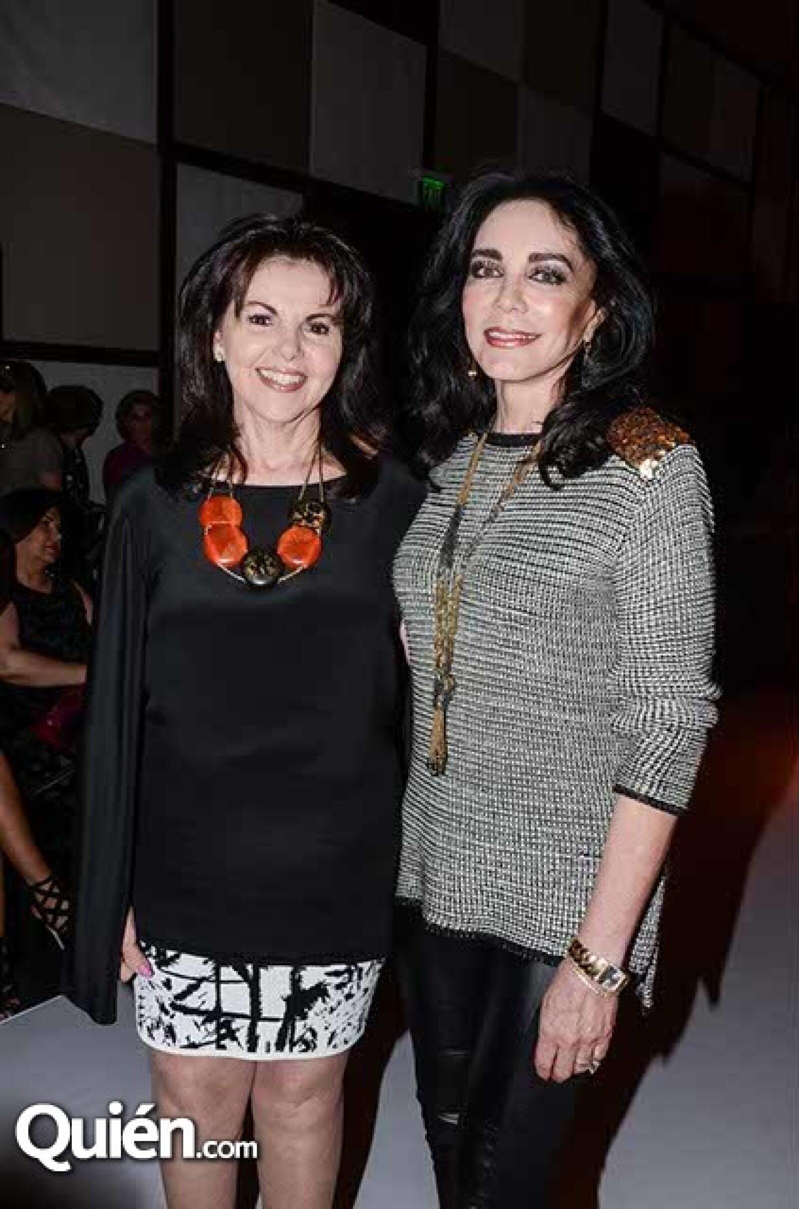 Bertha Ahumada y Lolita Peñafiel.