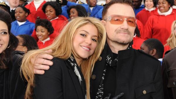 Shakira y Bono