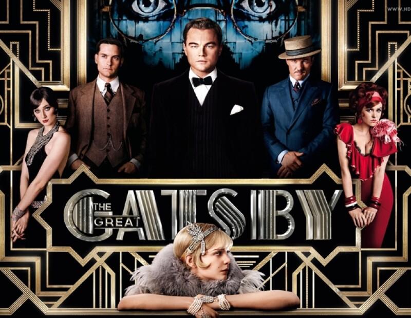 Uno de los posters de la más reciente versión de The Great Gatsby
