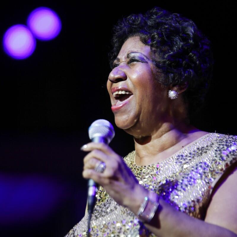Así fue el día que Aretha Franklin hizo llorar a los Obama