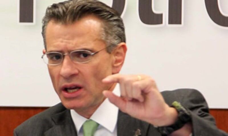 El lunes por la noche, personal de Pemex había confirmado la asistencia de Juan José Suárez Coppel, dijo la diputada perredista Esthela Damián. (Foto: Notimex)