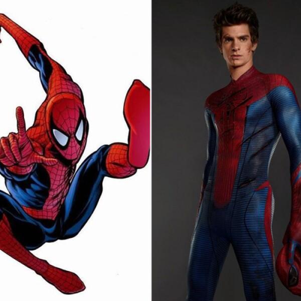 El simpático Spiderman ha sido interpretado por Tobey Maguire, pero Andrew Garfield fue muy bien recibido por la audiencia.