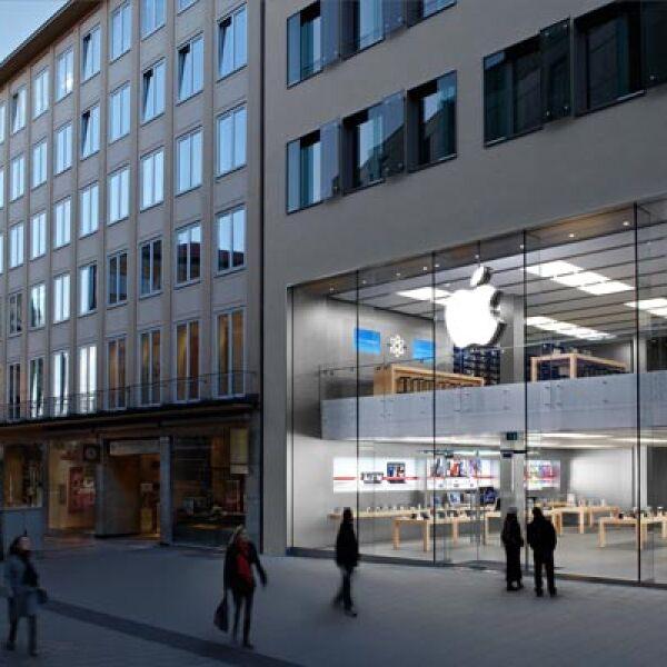 Alemania es uno de los mercados más fuertes para la compañía en Europa. En la imagen, la tienda de Rosenstraße.