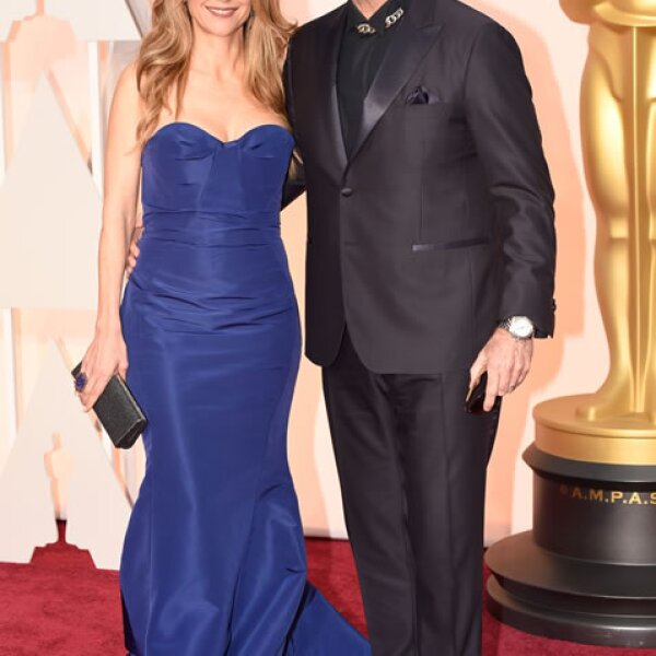 John Travolta, Kelly Preston.