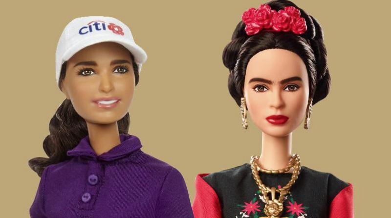 Marca de juguetes lanza Barbie de Frida Kahlo y Lorena Ochoa