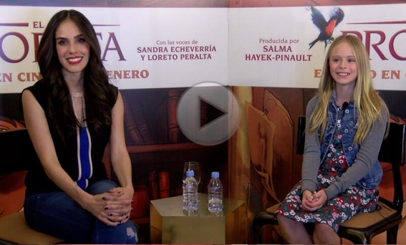 ¿Cómo es trabajar con Salma Hayek? Las actrices nos cuentan su experiencia con la veracruzana. Además hablamos de maternidad y de Valentina Paloma.