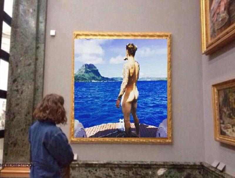 El ex de Selena Gomez nuevamente ha dado de qué hablar durante sus vacaciones por Bora Bora.