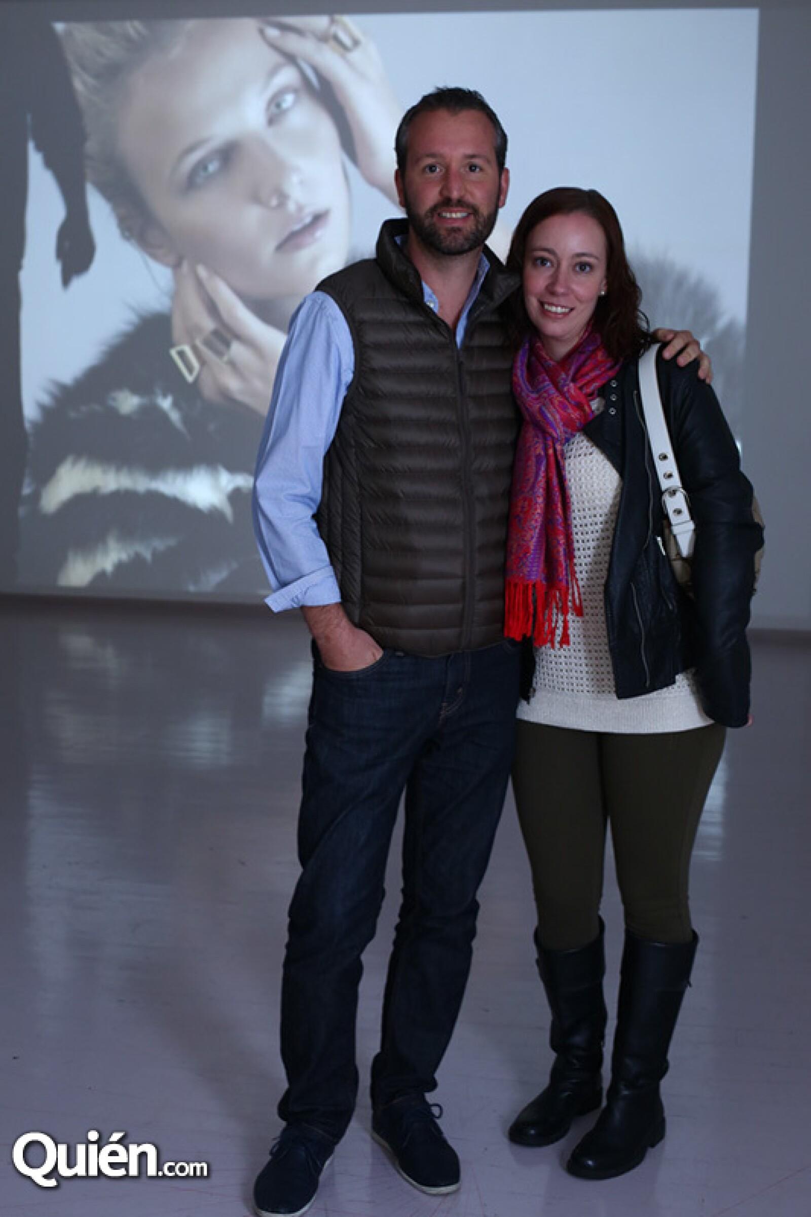 Glenn McGregor y Alejandra García